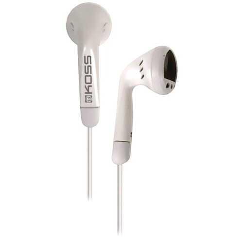 KOSS 191643 KE5 Earbuds (White)