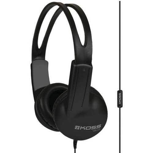KOSS 184515 UR10i On-Ear Headphones with Microphone