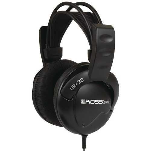 KOSS 192980 UR20 Full-Size Over-Ear Headphones