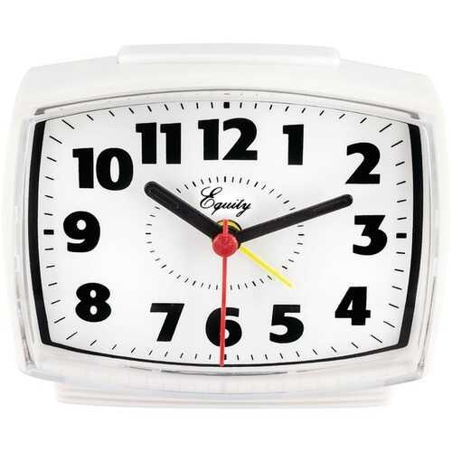 Equity by La Crosse 33100 Electric Analog Alarm Clock