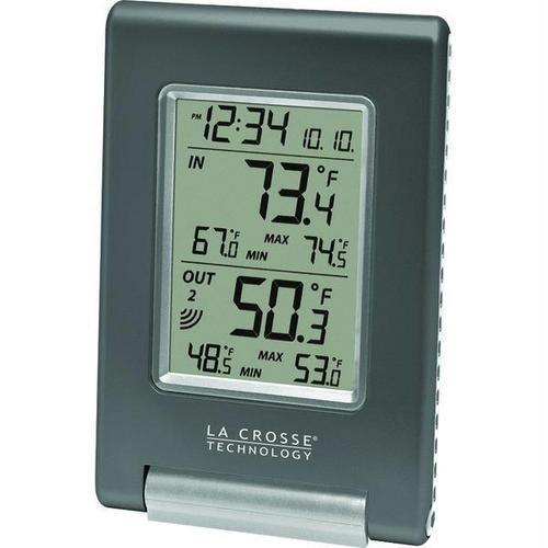 La Crosse Technology(R) WS-9080U-IT-CBP Wireless Temperature Station