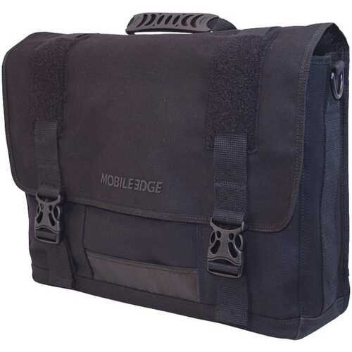 "Mobile Edge MECME1 17.3"" ECO Messenger Bag (Black)"