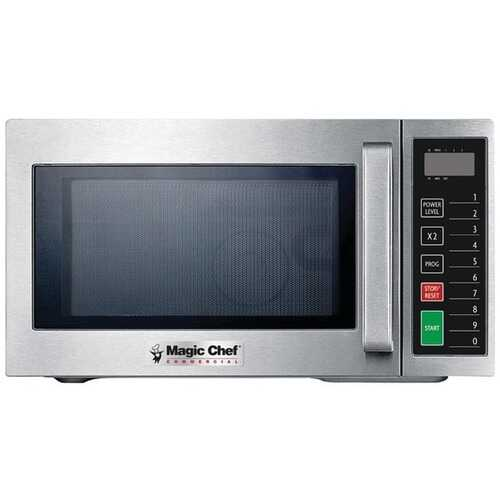 Magic Chef(R) MCCM910ST .9 Cubic-ft Commercial Microwave