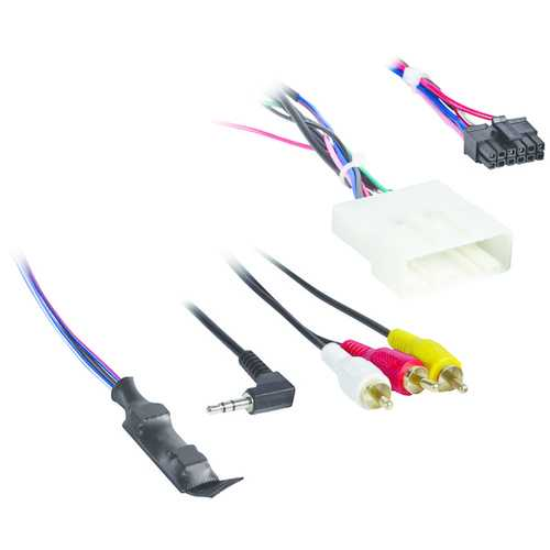 Axxess AX-NIS24SWC-6V Harness for Nissan (with NAV) 2011 and Up with 6-Volt Converter