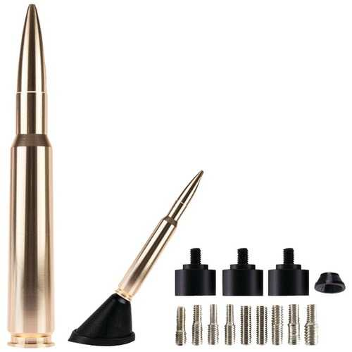 "AmmoTenna 50GD 5.5"" Billet Aluminum .50 Cal Replica Antenna Mast (Gold/Bright Copper)"