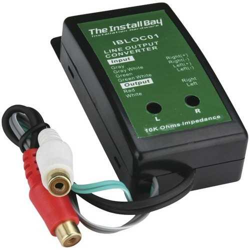 Install Bay IBLOC01 2-Channel 40-Watt Adjustable Level Converter