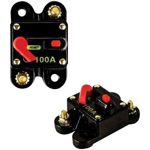 Raptor RCB100 PRO SERIES Circuit Breaker (100 Amps)