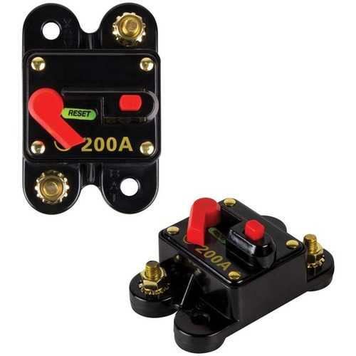 Raptor RCB200 PRO SERIES Circuit Breaker (200 Amps)