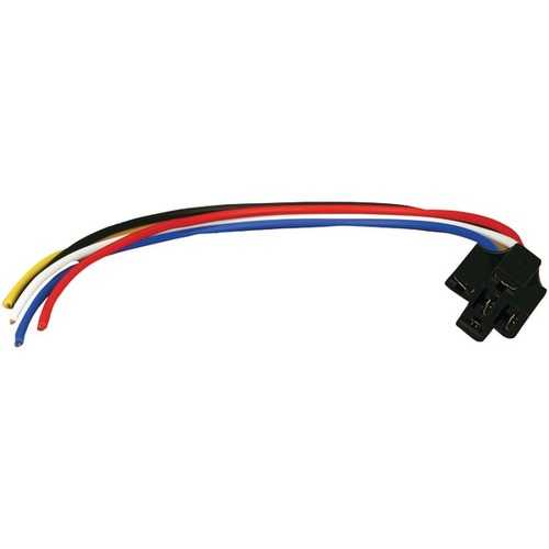"""Install Bay ERS-123 Socket Relay (With 12"""" Leads, Locking)"""