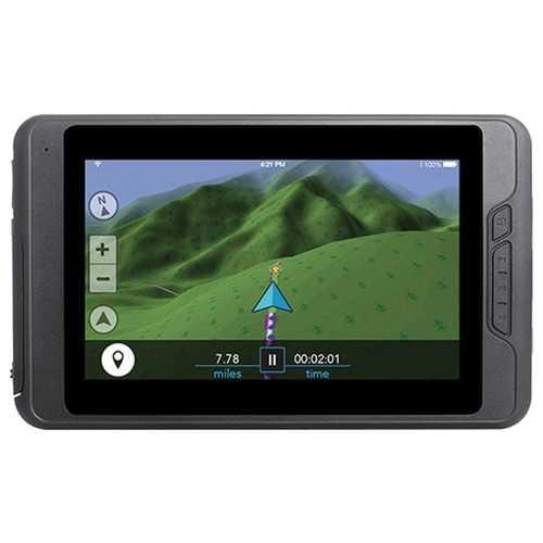 "Magellan TN1740SGLUC TRX7 Trail & Street 7"" GPS Navigator with Rear-Facing Trail Camera for 4x4 Vehicles"