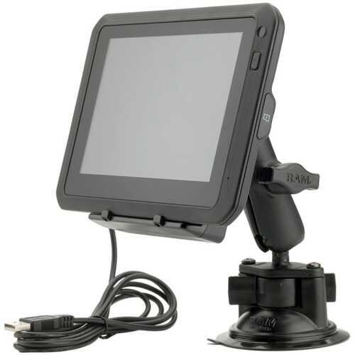 Magellan TN1840SGLUC TRX7 CS PRO Dual-Mount Trail & Street 7-Inch GPS Navigator with Rear-Facing Trail Camera