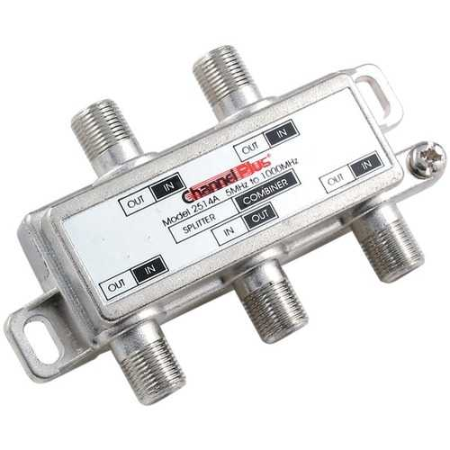 ChannelPlus 2514 DC/IR Passing Splitter/Combiner (4 way)