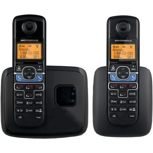 Motorola(R) L702BT DECT 6.0 2-Handset Cordless Phone System with Bluetooth(R) Link