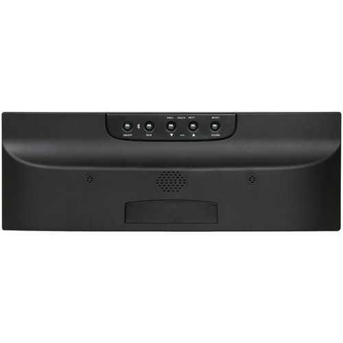 M&S Systems DMCBTB Music/Intercom System with Bluetooth Player (Black)