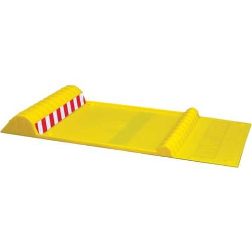 MAXSA Innovations 37356-RS Park Right Parking Mat (Yellow)
