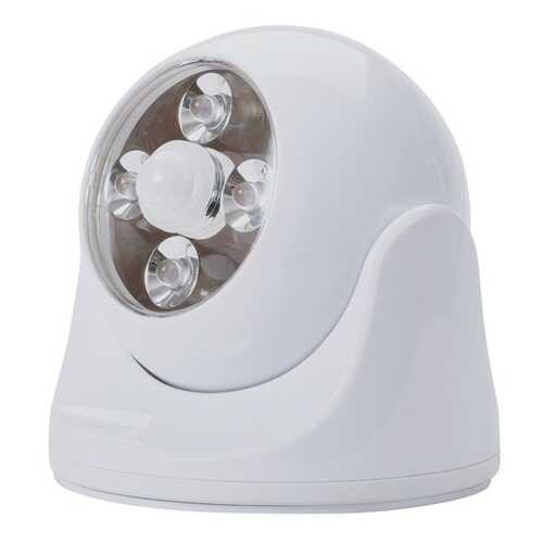 MAXSA Innovations 40251 Battery-Powered Motion-Activated Anywhere Light (White)