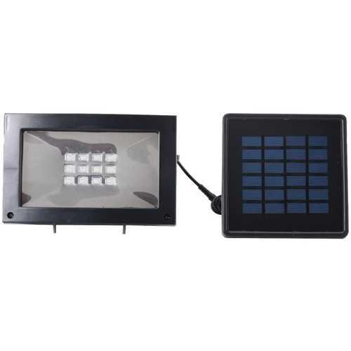 MAXSA Innovations 40330-RS Solar-Powered Flood Light