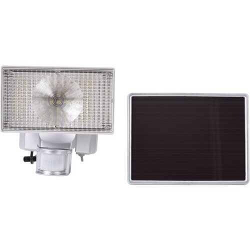 MAXSA Innovations 44150-SL 150-LED Solar-Powered Security Floodlight