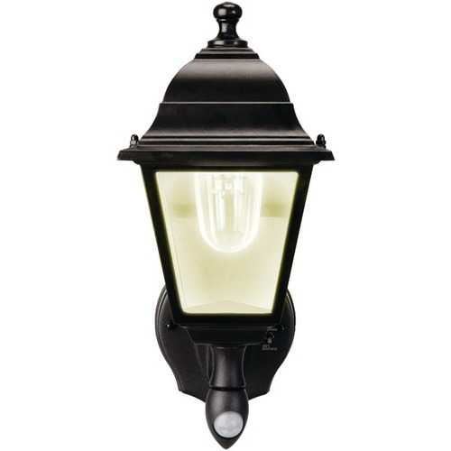 MAXSA(R) Innovations 44219 Motion-Activated Wall Sconce (Black)
