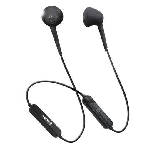 Maxell 198018 Jelleez Bluetooth Wireless Earbuds (Black)