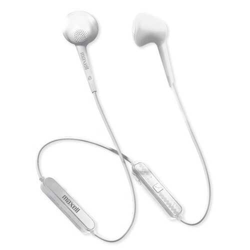 Maxell 198019 Jelleez Bluetooth Wireless Earbuds (White)