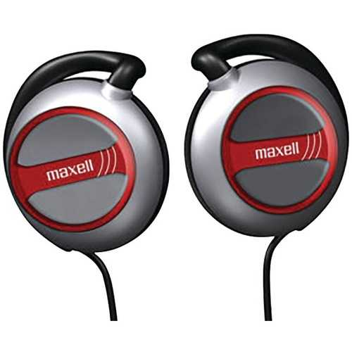 Maxell 190561 - EC150 Ear-Clip Headphones