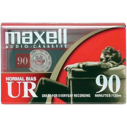 Maxell 108510 Normal-Bias Cassette Tape (Single)
