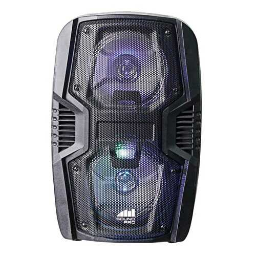 Naxa NDS-6005 Portable 6.5-Inch Dual Party Speakers and Disco Light