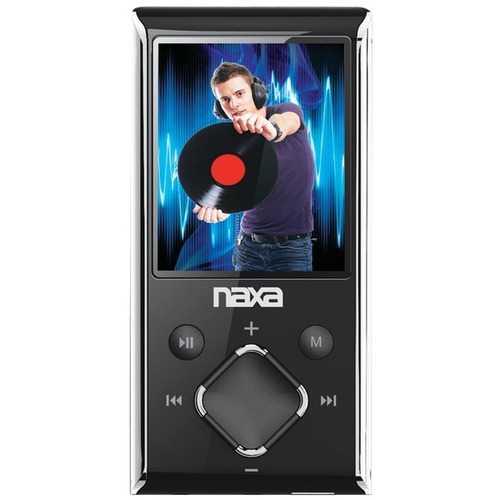 "Naxa NMV173NSL 8GB 1.8"" LCD Portable Media Players (Silver)"