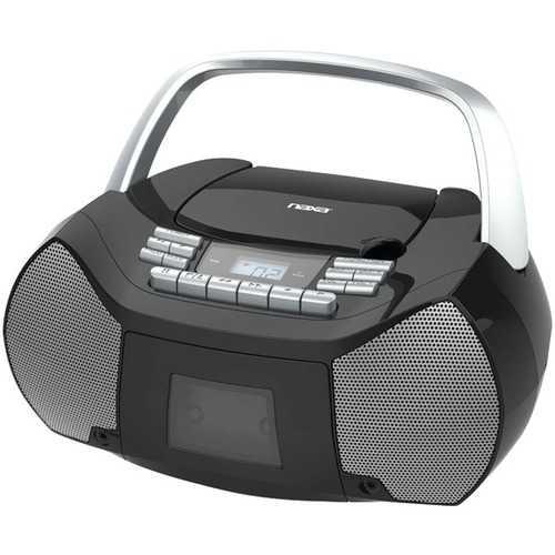 Naxa NPB-268 Portable CD/Cassette Boom Box