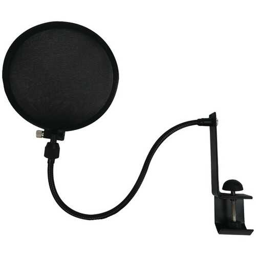 Nady SPF-1 Microphone Pop Filter with Boom and Stand Clamp