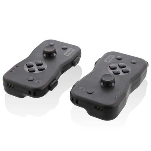 Nyko 87240 Dualies Motion Controller Set for Nintendo Switch (Black)