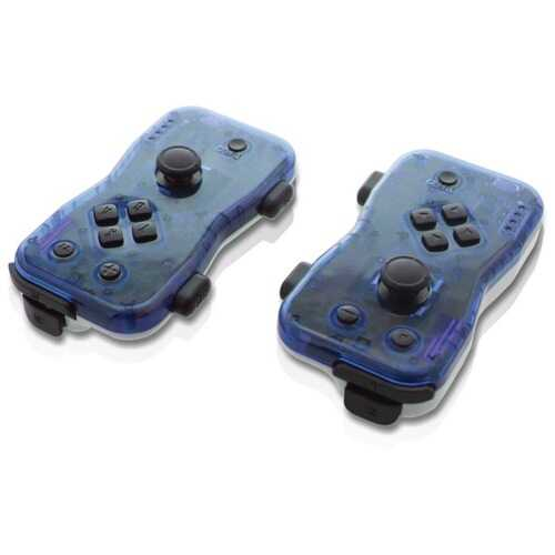 Nyko 87272 Dualies Motion Controller Set for Nintendo Switch (Blue)