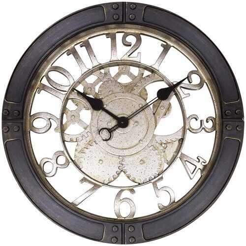 "Westclox 32947 16"" Gears Wall Clock"