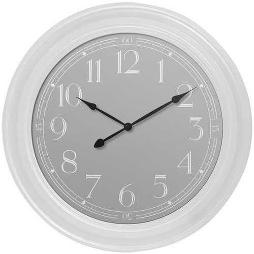 "Westclox 33095W 22"" White Wall Clock"