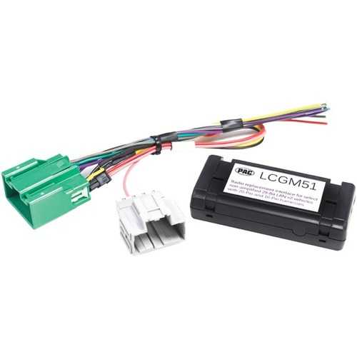 PAC LCGM51 Radio Replacement Interface for Select Nonamplified GM Vehicles (29-Bit, 20 & 16 Pin)