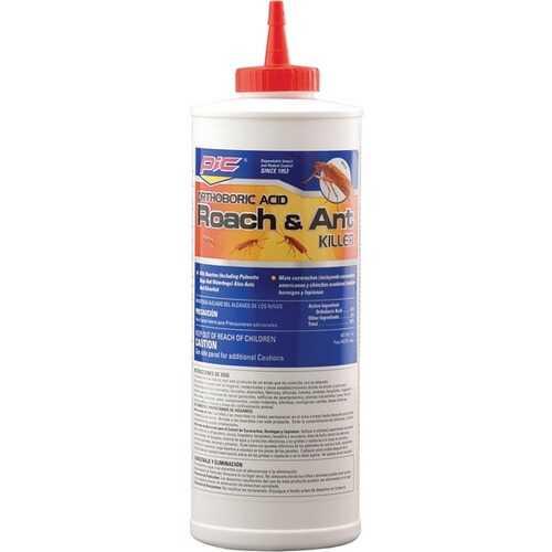 PIC BA-16 Orthoboric Acid Roach and Ant Killer, 16 Ounces