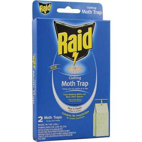 PIC CMOTHRAID Clothing Moth Trap, 2 pk