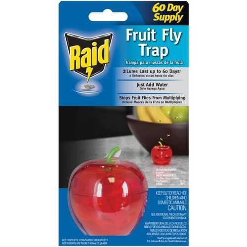 Raid FFTA-RAID Apple Fruit Fly Trap