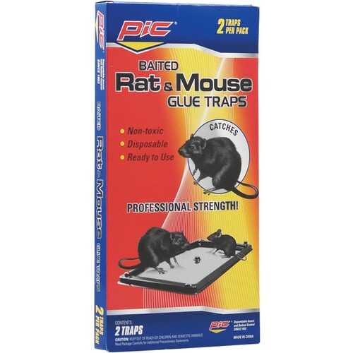 PIC GT-2 Rat & Mouse Glue Trays, 2 pk