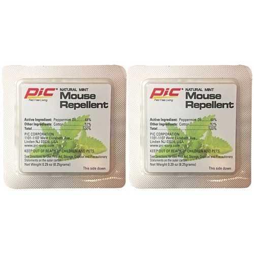 PIC MR-2 Natural Mint Mouse Repellent, 2-Count