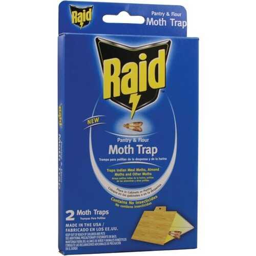 PIC PMOTHRAID Pantry Moth Trap, 2 pk