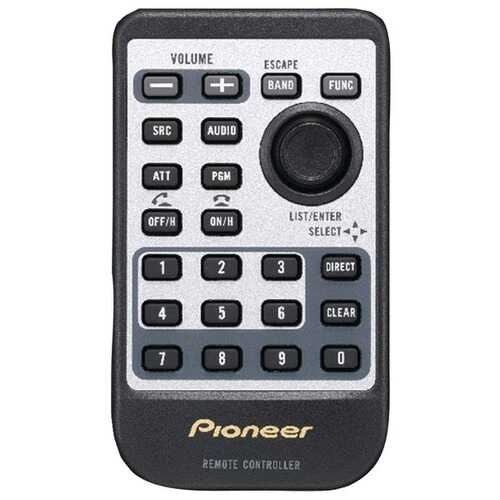 Pioneer CD-R510 Replacement Card Remote for Pioneer CD Head Units
