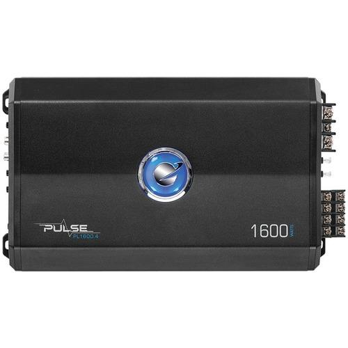 Planet Audio(R) PL1600.4 Pulse Series 4-Channel MOSFET Class AB Amp (1,600 Watts)