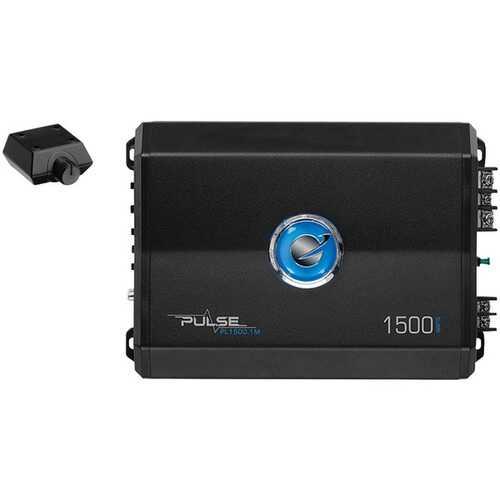 Planet Audio(R) PL1500.1M Pulse Series Monoblock Class AB Amp (1,500 Watts max)