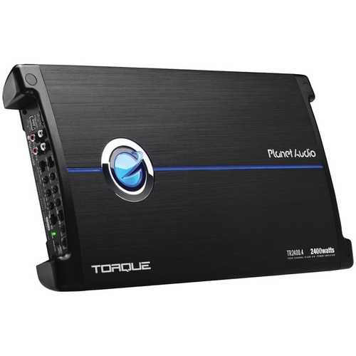 Planet Audio TR2400.4 Torque Series 4-Channel Full-Range Class AB Amp (2,400 Watts)