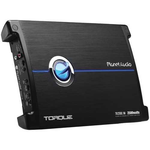 Planet Audio(R) TR2500.1M Torque Series Monoblock Class AB Amp (2,500 Watts)