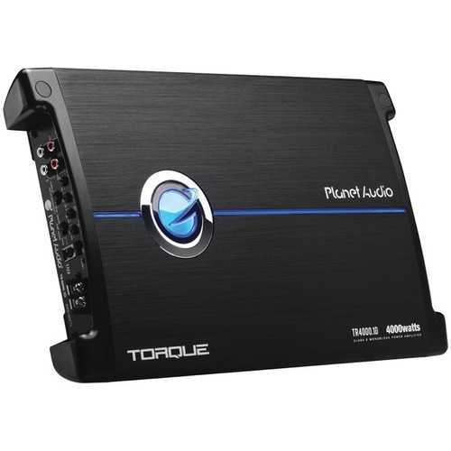 Planet Audio(R) TR4000.1D Torque Series Monoblock Class D Amp (4,000 Watts)
