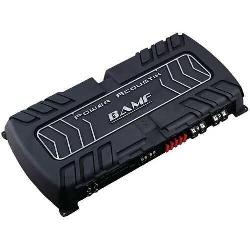 Power Acoustik(R) BAMF1-8000D BAMF Series Monoblock Class D Amp (8,000 Watts max)