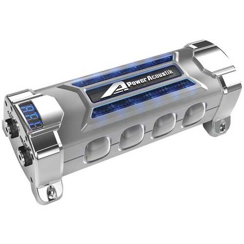Power Acoustik PCX-5F 5-Farad Power Capacitor